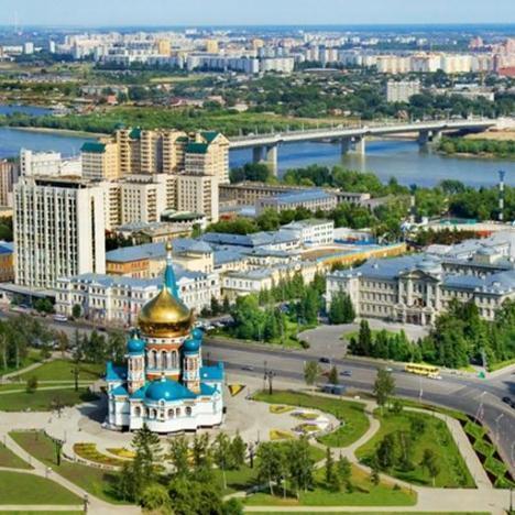 Омск «Наш сибирский город Омск»